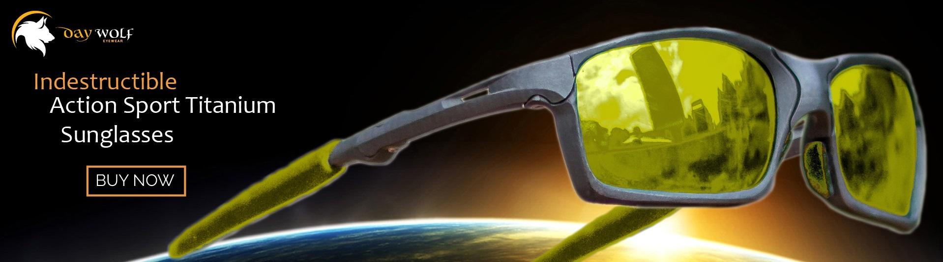 0510a6730bd Daywolf® Titanium Sunglasses